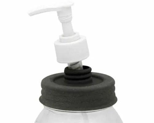 colonial-tin-works-barn-roof-soap-pump-dispenser-lid-white-plastic-regular-mouth-mason-jars-threads