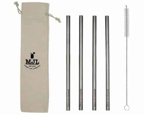 mason-jar-lifestyle-long-9-inch-extra-thick-9.5mm-smoothie-stainless-steel-metal-straws-4-pack-cleaning-brush-cloth-bag