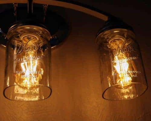 open-cut-bottom-kerr-mason-jar-quart-wide-mouth-light-lid-edison-bulb-fixture-on