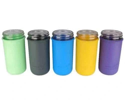 mjl-silicone-sleeve-koozie-ball-pint-and-half-24oz-mason-jar-5-colors-jars