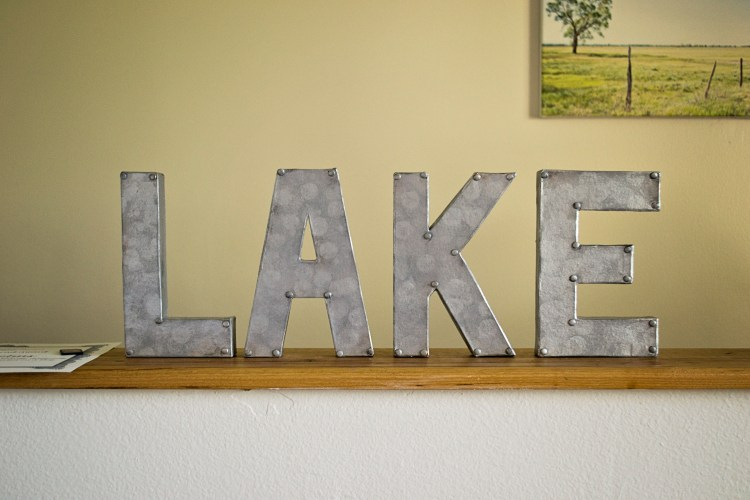 Lake Sign 1