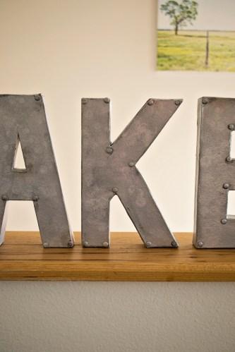Lake Sign 2