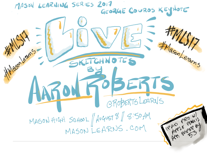 Live Sketchnotes w/ Aaron Roberts