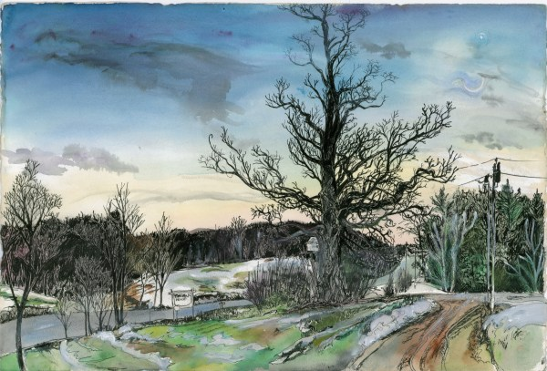 Vermont Watercolor Paintings