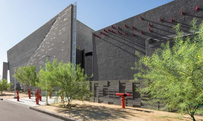 Mesa Community College Performing Arts Center Hits High