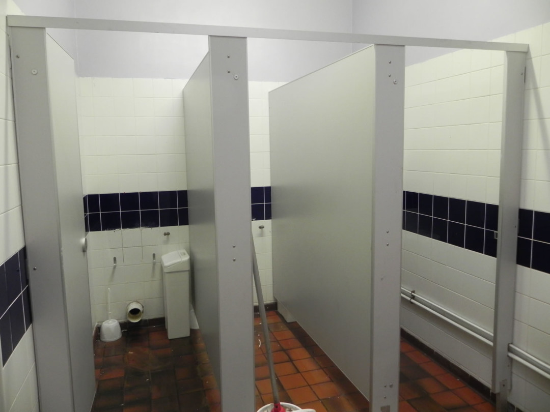 Ladies Toilet Refurbishment  Commercial Refurbishment  Office Partitioning Specialists