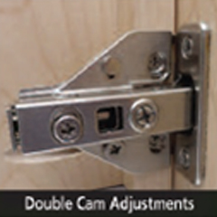 Comtrad – 0mm Hinge Plate – Cam Adjustable Image