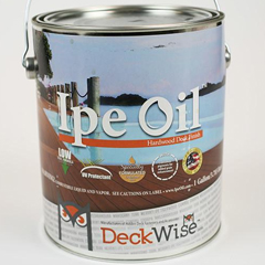 Ipe Oil Hardwood Deck Finish Image