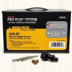 Pro Plug #8 2-1/2″ Screws with Plugs Image