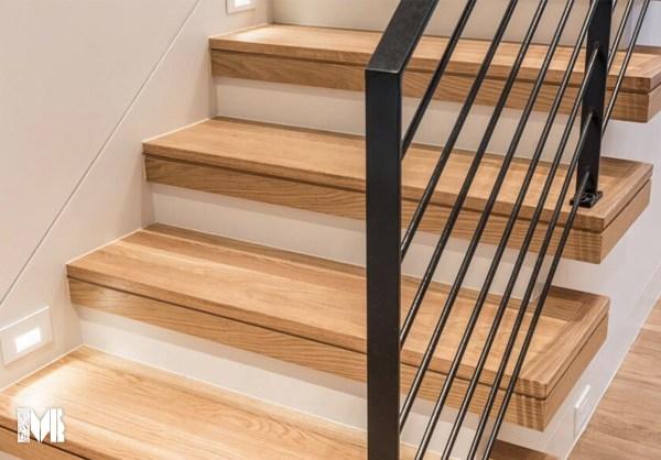 Stair Treads – Mason S Mill Lumber Co   White Oak Stair Treads   Modern Farmhouse   Wooden   Solid Oak   Wood Stair   Custom