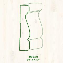MC-2404 3/4 x 3 1/2 Image