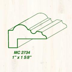 MC-2734 1 x 1 5/8 Image