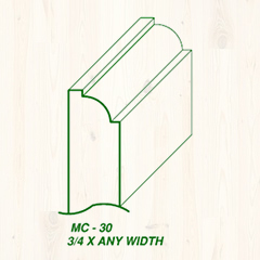 MC-30 3/4 x Any Width Image