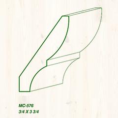 MC-576 3/4 x 3 3/4 Image
