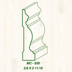 MC-830 5/8 x 2 11/16 Image