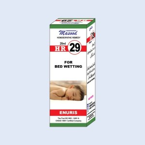 HR-29 (ENURIS) - Dr. Masood Homoeopathic Pharmaceuticals