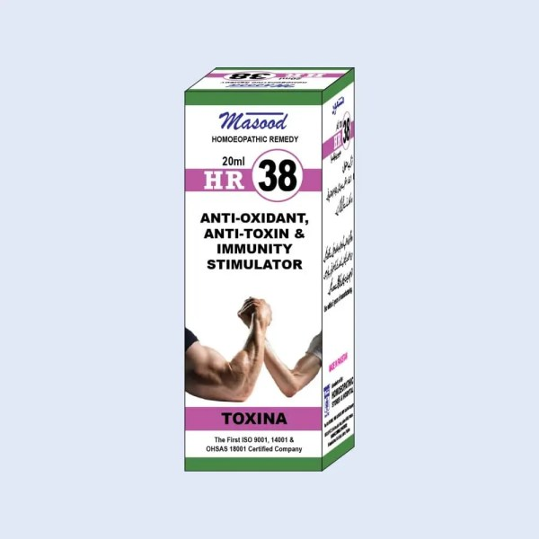 HR-38 (TOXINA) - Dr. Masood Homoeopathic Pharmaceuticals