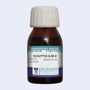 EUCALYPTUS GLOB-Q-Mother tincture-dr.masood homeopathic pharma-Pakistan