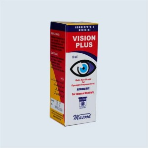 VISION PLUS - Dr. Masood Homoeopathic Pharmaceuticals