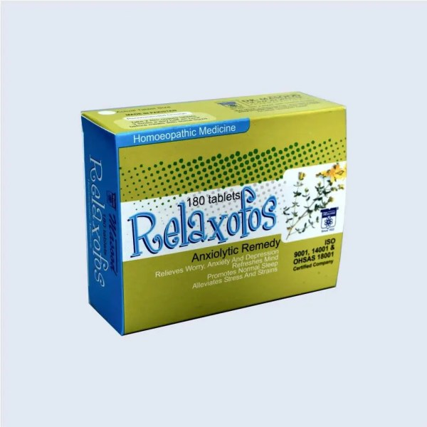relaxofos - Dr. Masood Homoeopathic Pharmaceuticals