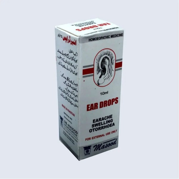 EAR DROPS - Dr. Masood Homoeopathic Pharmaceuticals
