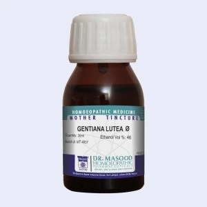 Gentiana Lutea Q- Mother Tincture | Dr.Masood Homeopathic Pharma