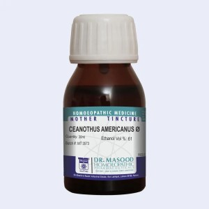 CEANOTHUS AMERICANUS-Mother tincture-dr.masood homeopathic pharma-pakistan