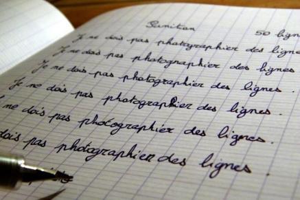 punition-copier-des-lignes-image-sophrologie pédagogique