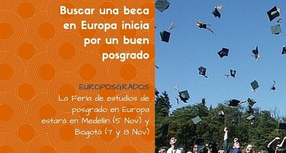 Europosgrados. La Feria de estudios de posgrado en Europa