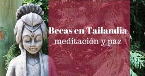 Becas para meditar en Tailandia. Para ciudadanos del mundo entero – prepárala con tiempo