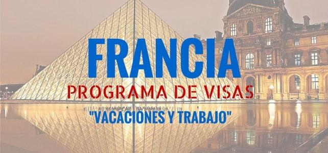 Convocatoria abierta: Visa de vacaciones y trabajo en Francia para Colombianos