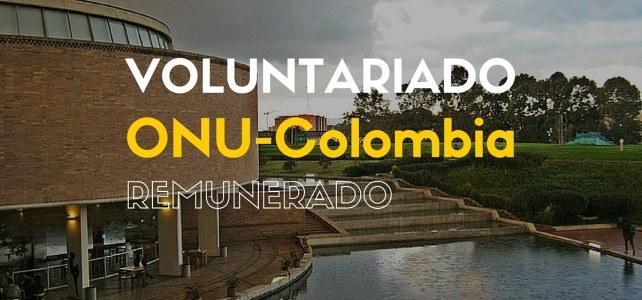 Voluntariado remunerado con Oficina de las Naciones Unidas para la Coordinación de Asuntos Humanitarios – OCHA en Colombia