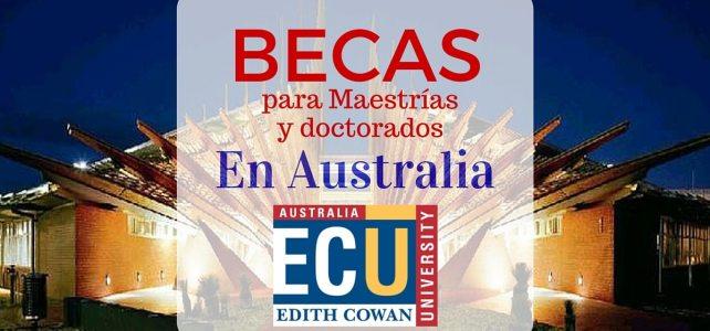 Becas de Maestría y Doctorado en Australia