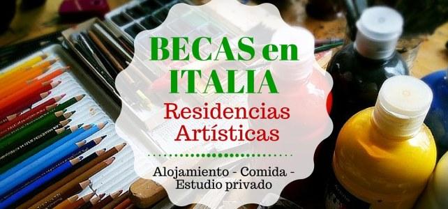Becas para residencias artísticas en Italia – Sin límite de edad o nacionalidad