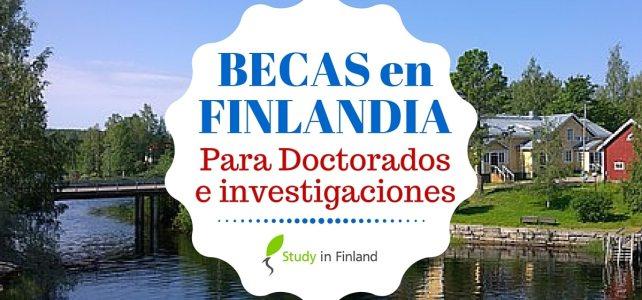 Becas para Doctorados en Finlandia