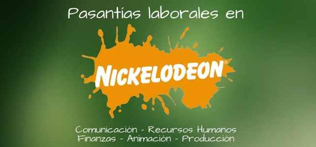 Pasantías profesionales con Nickelodeon