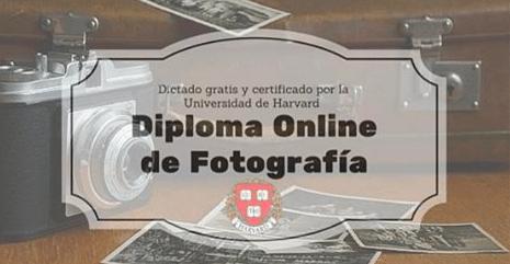 Diploma Online de Fotografía dictado por la Universidad de Harvard – Gratis & con posibilidad de certificado