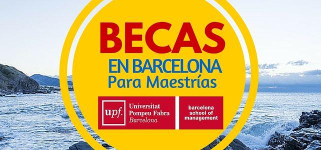 Becas para estudios de maestría en Barcelona