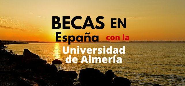 Estudia en Europa. Becas de Maestría en la Universidad de Almería en España