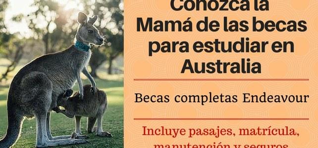 La mejor beca para estudiar en Australia – Becas Endeavour