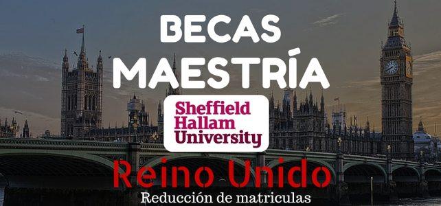 Becas de excelencia en la Universidad Sheffield Hallam, Reino Unido