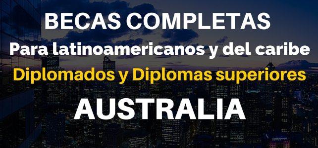 Buscas un curso de profundización? Becas completas de entrenamiento profesional en Australia