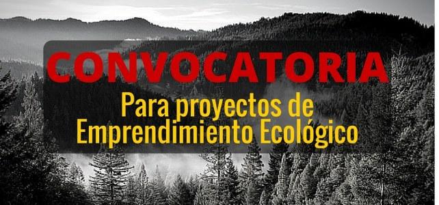Convocatoria para emprendimientos ecológicos – sin restricción de nacionalidad