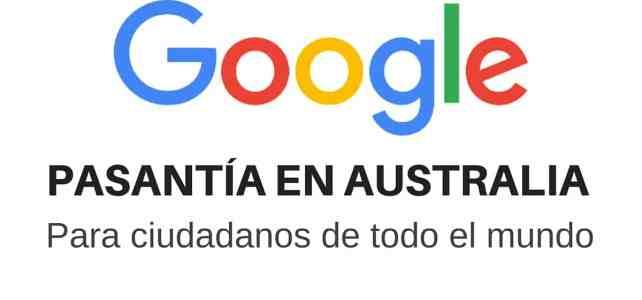 Pasantía en Google Australia