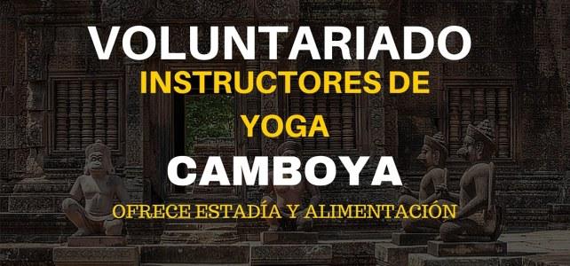 Voluntariado como instructor de Yoga en Camboya – Ideal para mochileros