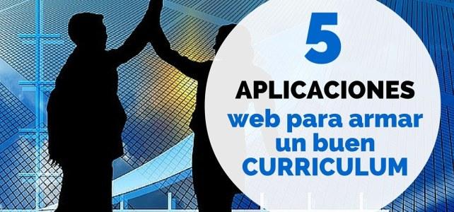Haz un currículum online con estas 5 aplicaciones web Gratuitas