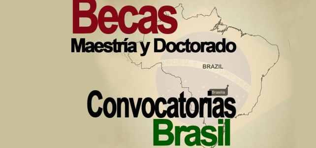 Becas de la OEA para Maestrías y Doctorados en Brasil