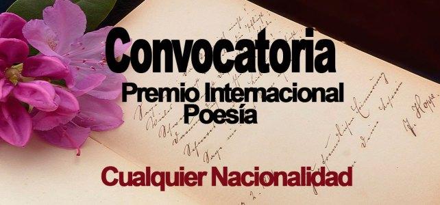 Convocatoria Premio de Poesía Fundación LOEWE – Para todos los escritores del mundo