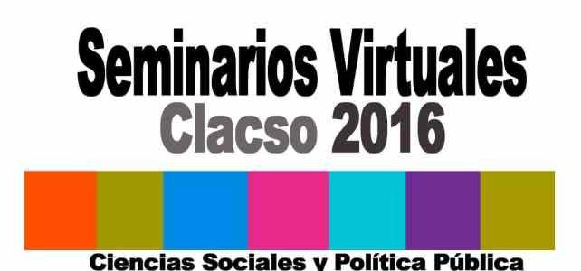 Seminarios virtuales para responsables de políticas públicas y público en general