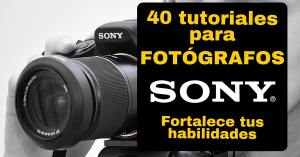 tutoriales sony
